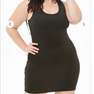 NWT! Forever 21 Plus Button Accent Bodycon Dress